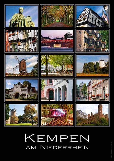 Kempen, Sommer Poster